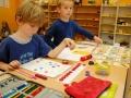 Unterricht mit Montessori-Materialien