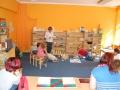 Vorführung der Montessori-Materialien