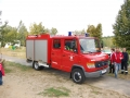 Die Freiwillige Feuerwehr Wernsdorf war auch da