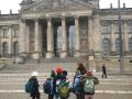 Vor dem Bundestag in Berlin